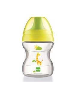 Kubek treningowy Learn to Drink Cup miękki 190ml 6+ żyrafa MAM