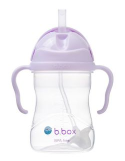 B.BOX Bidon ze słomką 240ml Gelato Boysenberry