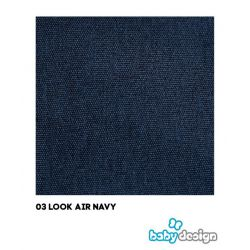 Look Air 03 Navy 2020 Wózek spacerowy pompowane koła Baby Design