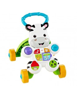 Fisher Price Interaktywny Chodzik Zebra Mattel