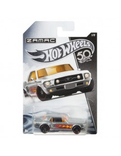 Zamac 50 Rocznica 67 Ford Mustang Coupe Hot Wheels