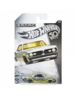 Zamac 50 Rocznica Plymouth Barracuda Formula 5 Hot Wheels