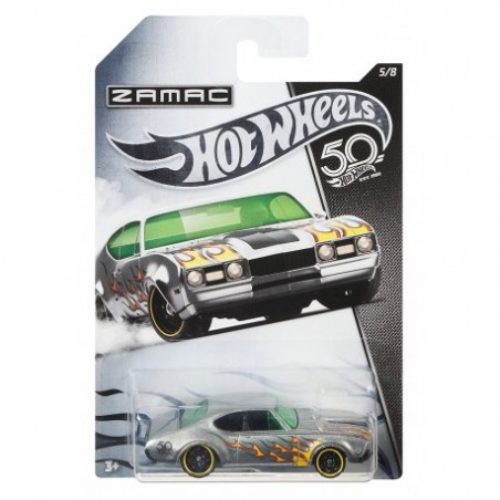 Zamac 50 Rocznica '60 Olds 442 Hot Wheels