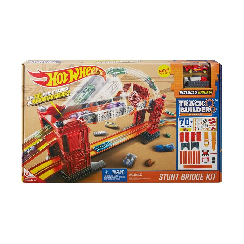 Kaskaderski Most Zestaw do Konfiguracji Track Builder Hot Wheels
