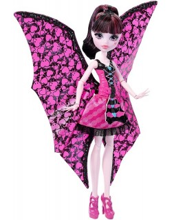Draculaura Wampiskrzydła 2w1 Monster High